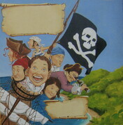 Illustration from- Pirate Treasure Hunt- Sample 1